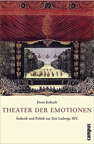 9783593382210: Theater der Emotionen