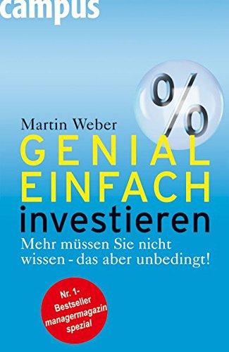 9783593382470: Genial einfach investieren: Mehr müssen Sie nicht wissen - das aber unbedingt!