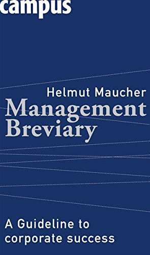 9783593383859: Management Breviary: A Guideline to Corporate Success
