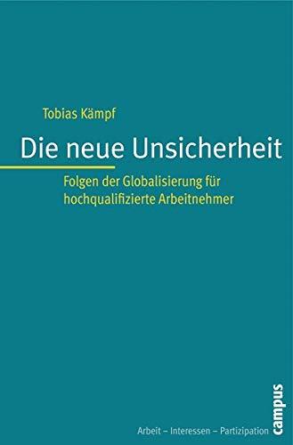 Die neue Unsicherheit: Tobias Kämpf