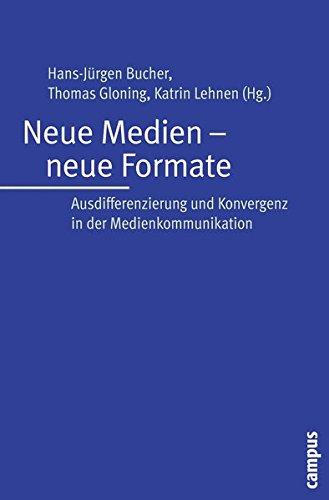 9783593392097: Neue Medien - neue Formate: Ausdifferenzierung und Konvergenz in der Medienkommunikation
