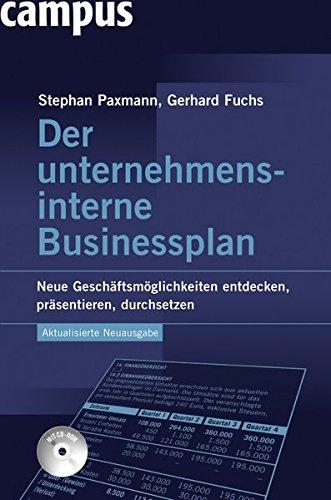 9783593392141: Der unternehmensinterne Businessplan