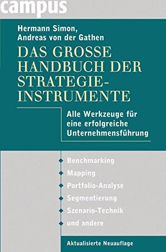 9783593393353: Das große Handbuch der Strategieinstrumente