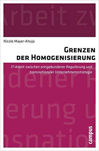Grenzen der Homogenisierung: Nicole Mayer-Ahuja