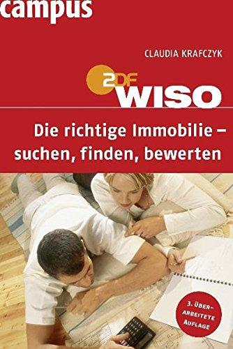 9783593394480: WISO: Die richtige Immobilie - suchen, finden, bewerten