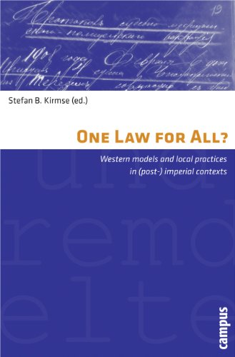 9783593394930: One Law for All?: Western Models and Local Practices in (Post-) Imperial Contexts (Representations of Patterns of Social Order)
