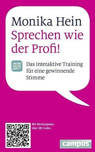 9783593399119: Sprechen wie der Profi: Das interaktive Training für eine gewinnende Stimme