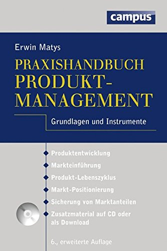 9783593399317: Praxishandbuch Produktmanagement