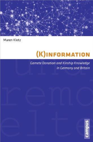 K)information. Gamete donation and kinship knowledge in: Klotz, Maren.