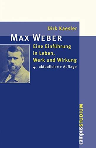 9783593501147: Max Weber