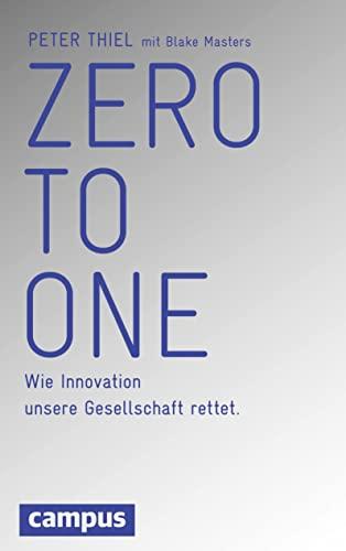 9783593501604: Zero to One