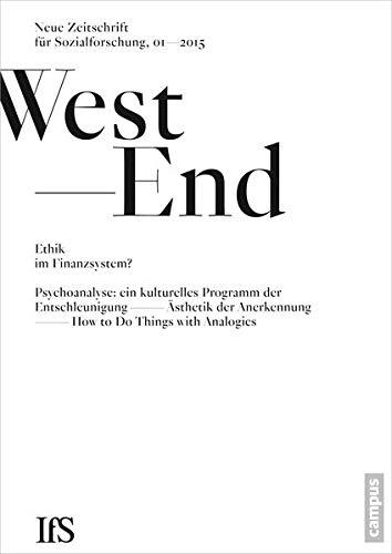 9783593503219: WestEnd 2015/1: Ethik im Finanzsystem?: Neue Zeitschrift für Sozialforschung