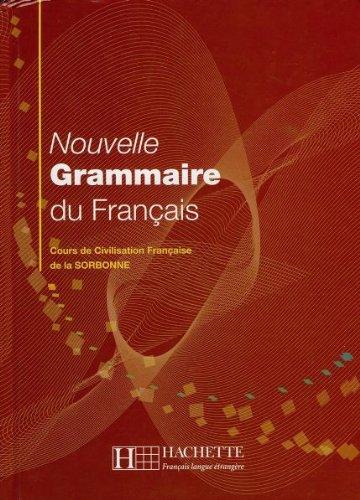 9783595552710: Nouvelle Grammaire Du Francais