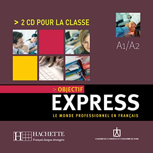 9783595956822: Objectif Express: Niveau 1 CD Audio (X2) (French Edition)