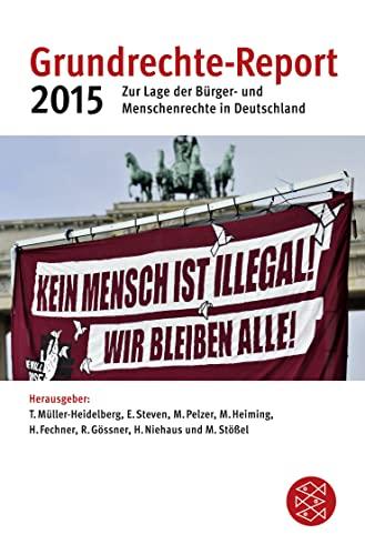 9783596032884: Grundrechte-Report 2015
