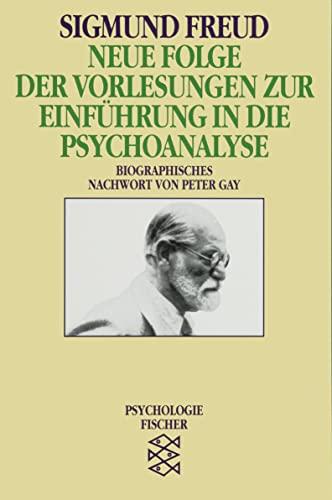 9783596104338: Neue Folge der Vorlesungen zur Einführung in die Psychoanalyse.