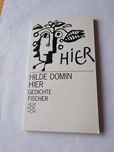 HIER Gedichte - Domin, Hilde