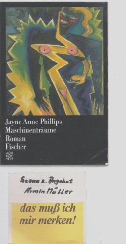 9783596108169: Maschinenträume. (5533 309). Roman.