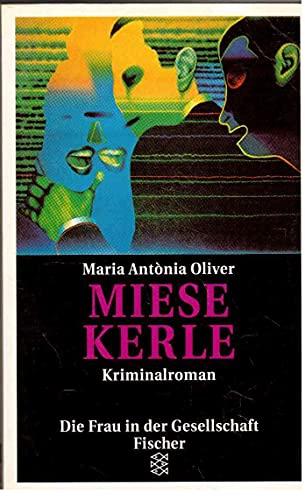 9783596108688: Miese Kerle. Kriminalroman