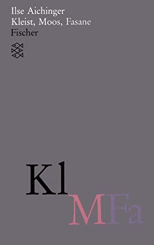 9783596110452: Kleist, Moos, Fasane: (Werke in acht Bänden)