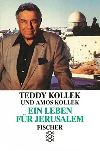 9783596112692: Ein Leben für Jerusalem.