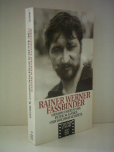 9783596113187: Rainer Werner Fassbinder