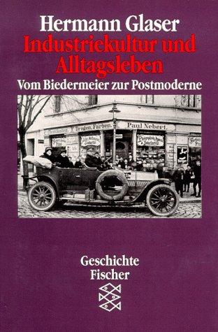 9783596117512: Industriekultur und Alltagsleben. Vom Biedermeier zur Postmoderne. ( Geschichte).