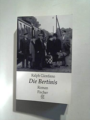 9783596121175: Die Bertinis. Roman
