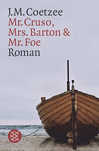 9783596132515: Mr. Cruso, Mrs. Barton und Mr. Foe