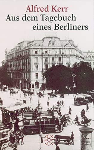 9783596144884: Aus Dem Tagebuch Eines Berliners (German Edition)