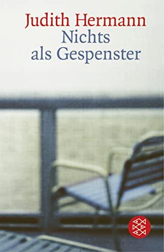 9783596157983: Nichts Als Gespenster (German Edition)