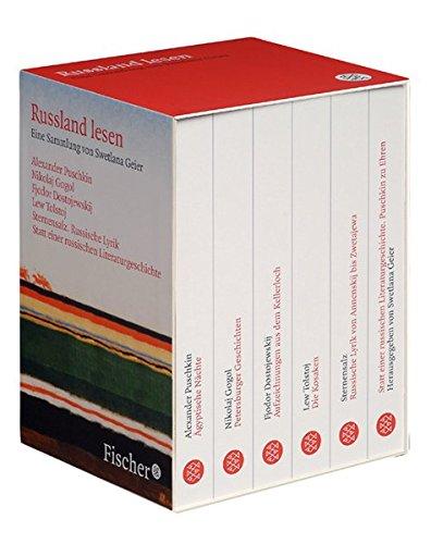 9783596161706: Russland lesen: 6 Bände.