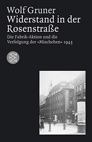 9783596168835: Widerstand in der Rosenstra�e