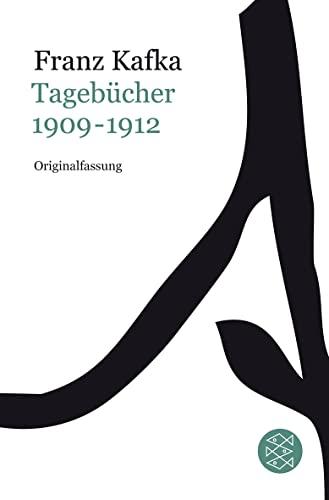 9783596181179: Franz Kafka Gesamtwerk - Neuausgabe: Tagebücher Bd.1: 1909-1912