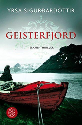 Geisterfjord: Island-Thriller - signiert: Sigurdardottir, Yrsa