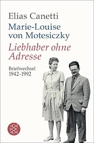 9783596196234: Liebhaber ohne Adresse: Briefwechsel 1942 - 1992