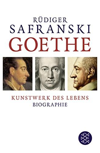 9783596198382: Goethe Kunstwerk des Lebens