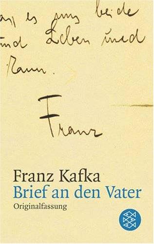 Brief an den Vater (Anstreichungen): Kafka, Franz