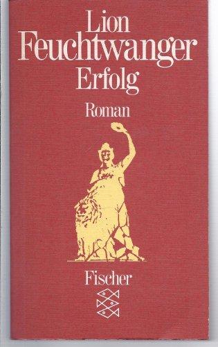 9783596216505: Erfolg (German Edition)