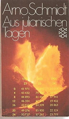 Aus julianischen Tagen (German Edition): Schmidt, Arno