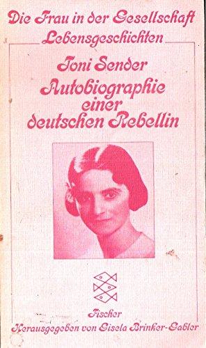 9783596220441: Autobiographie einer deutschen Rebellin.