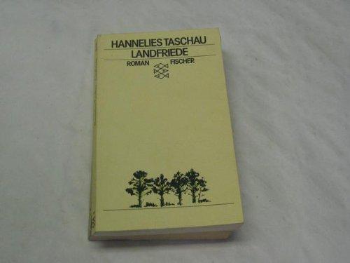 9783596220991: Landfriede. Roman