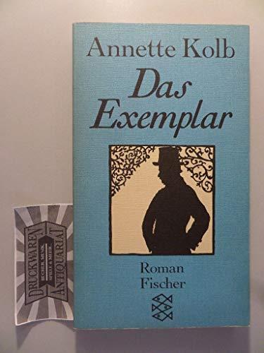 Das Exemplar: Roman - Kolb, Annette