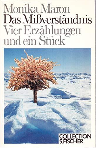 9783596223244: Das Missverstandnis: Vier Erzahlungen und ein Stuck (Collection S. Fischer) (German Edition)