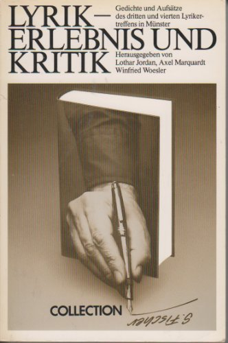 9783596223596: Lyrik Erlebnis Und Kritik (Collection S. Fischer) (German Edition)