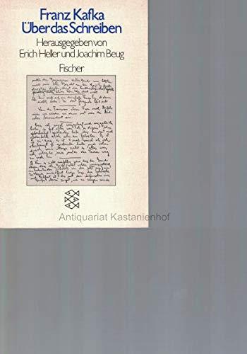 Franz Kafka über das Schreiben (3596225280) by Erich Heller; Joachim Beug