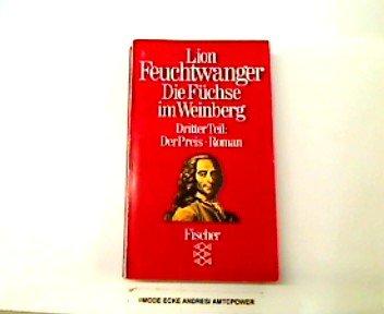 9783596225477: Der Preis, Bd 3