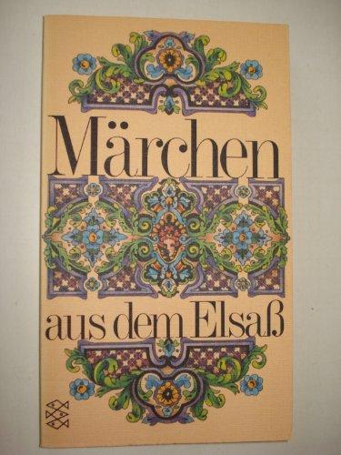 9783596228126: Marchen aus dem Elsass (German Edition)