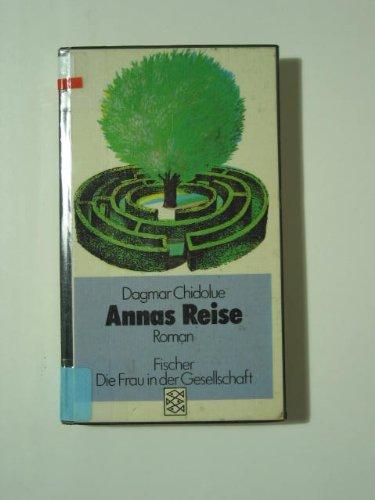 9783596237555: Annas Reise. Roman