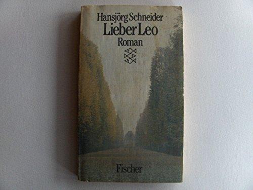 9783596252572: Lieber Leo. Roman